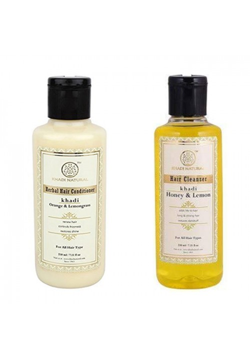 Khadi Natural Hair Cleanser & Conditioner