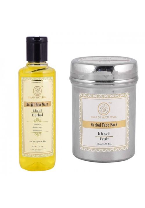 Khadi Natural Face pack and Wash