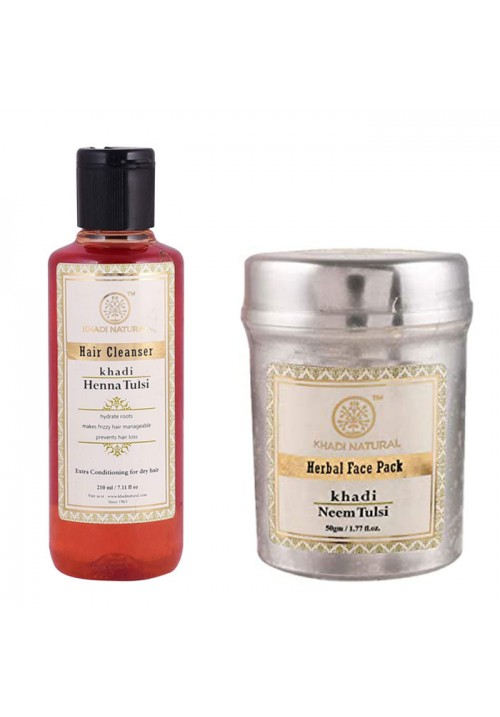 Khadi Naturals Facepack and Hair Cleanser
