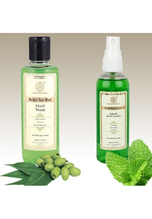 Khadi Natural Facewash and Fresher