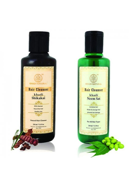 Khadi Natural Hair Cleanser (Pack of two)