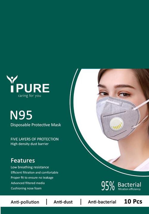 iPure N95 Mask Pack of 4
