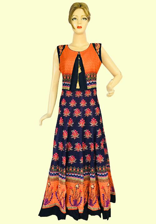 Anora Orange One Piece Dress