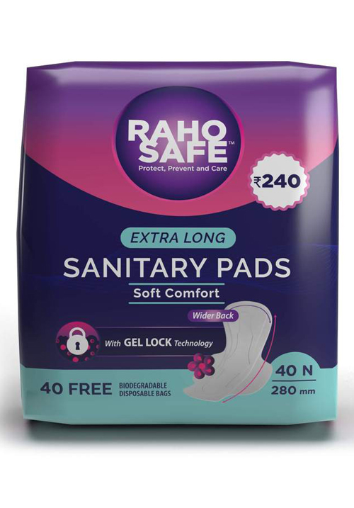 Sanitary Pads - Extra Long 280mm (Pack Of 40)