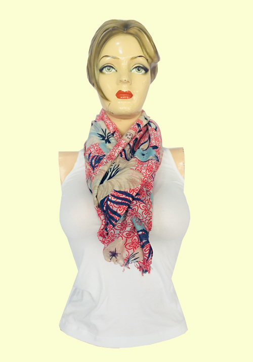 ModaElementi Light Pink Scarf