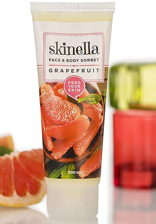 Skinella grape fruit face body sorbet