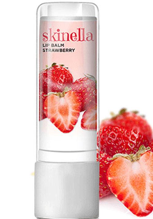 Skinella strawberry lip balm