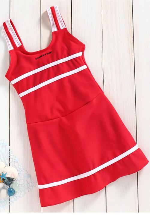 Lobster Swimwear Red