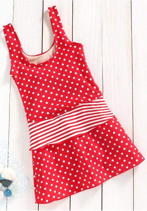 Lobster Swimwear Polka Red