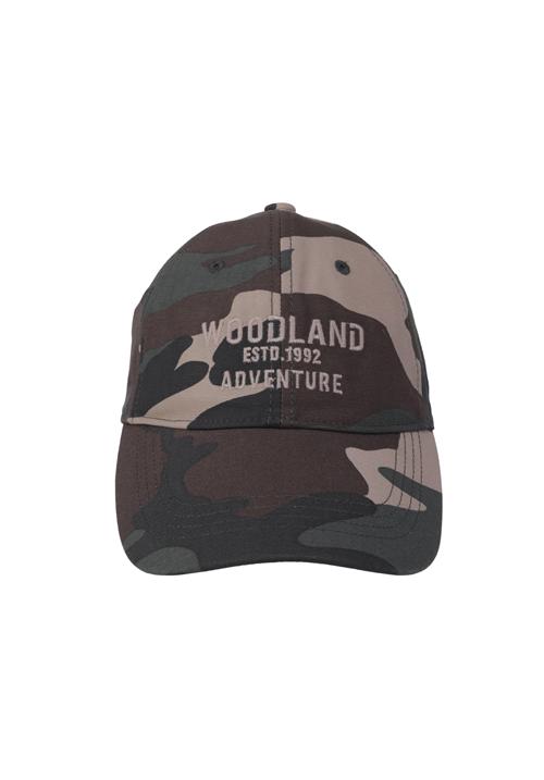 Woodland Camouflage Cap 516365
