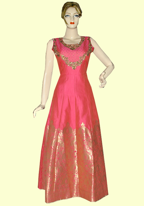 Zola Party Wear Gown Pink 099241