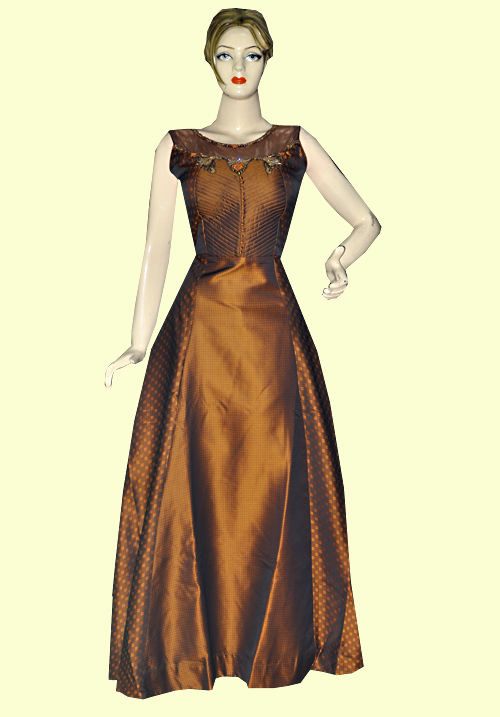 Zola Party Gown Brown 910302