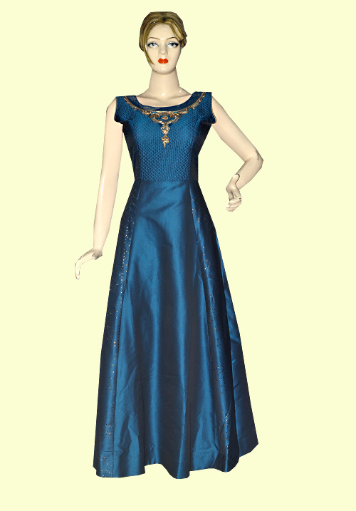 Zola Party Gown Peacock 910304