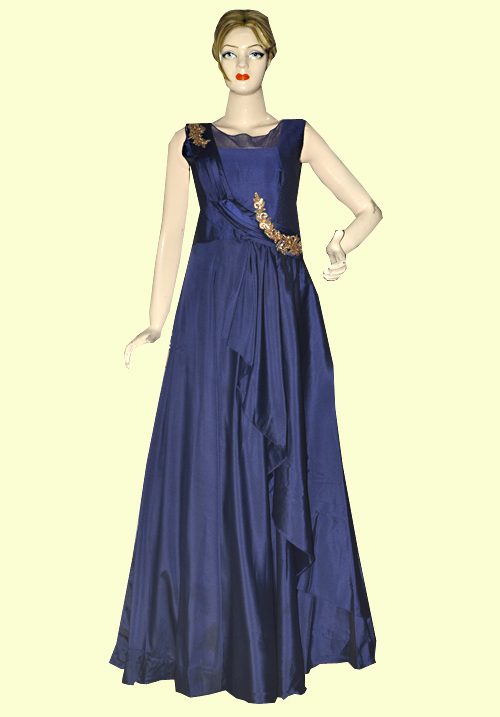 Zola Party Gown Navy Blue 918556